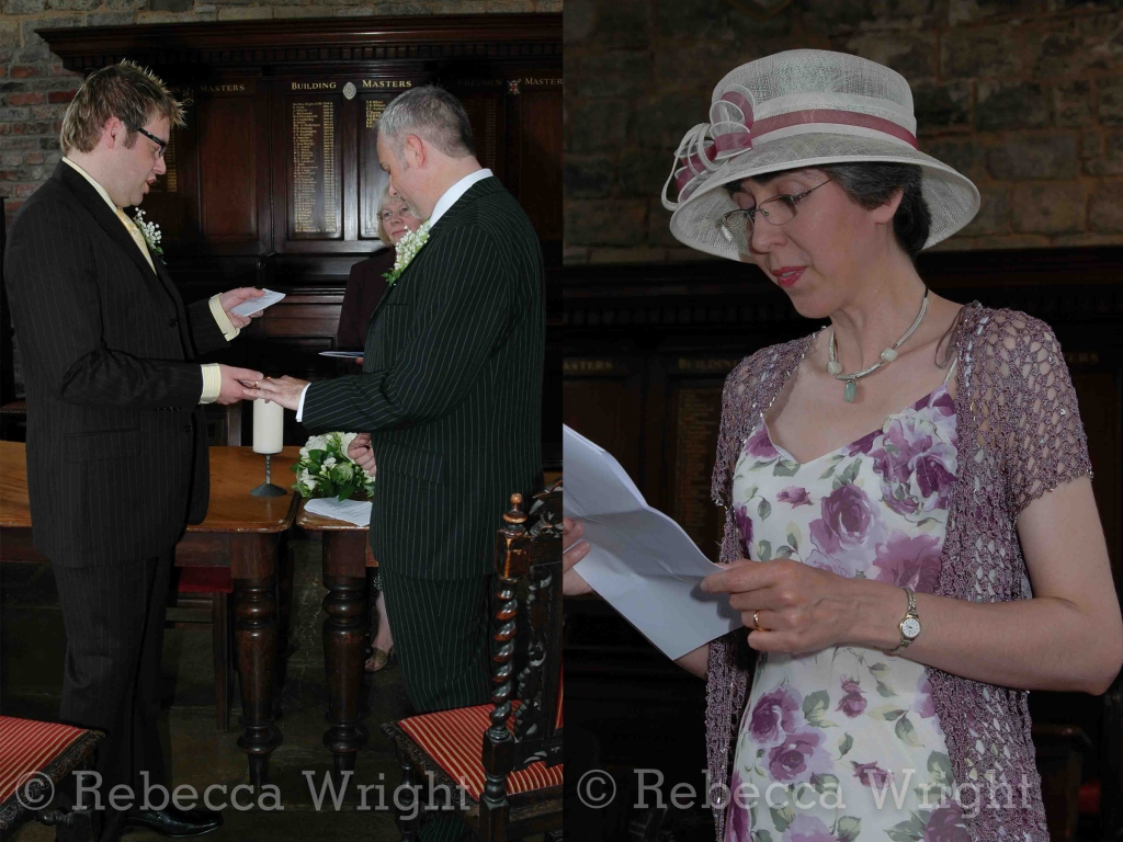 vows and reading